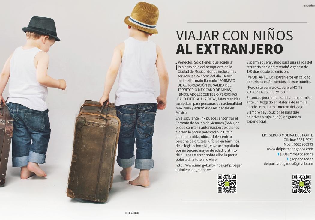 Viajar con niños al extranjero
