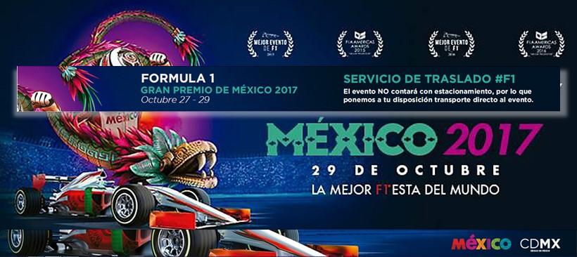 Plan de movilidad  Fórmula 1 gran premio de México 2017
