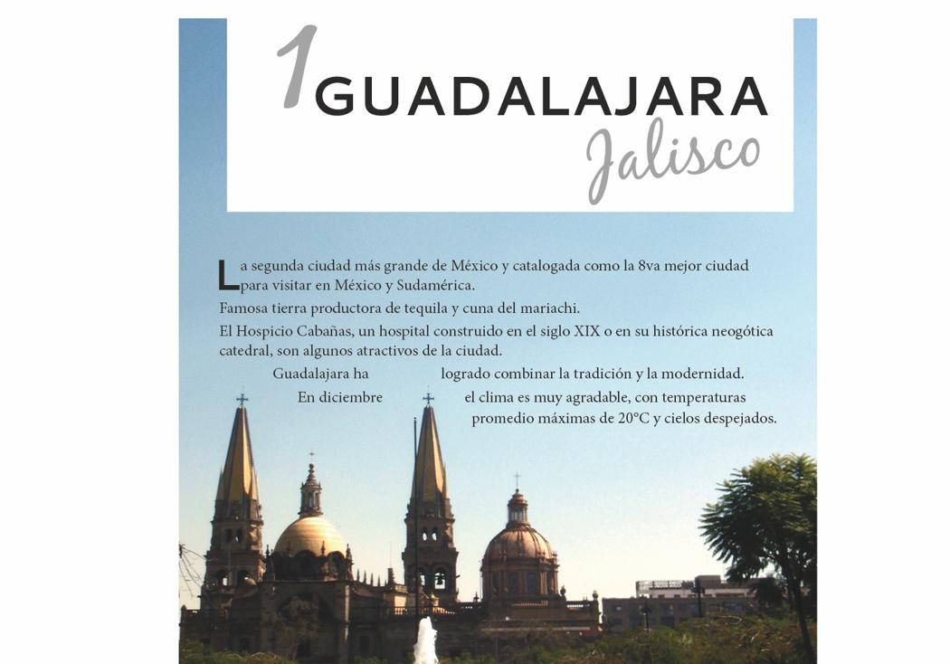 1. Guadalajara, Jalisco
