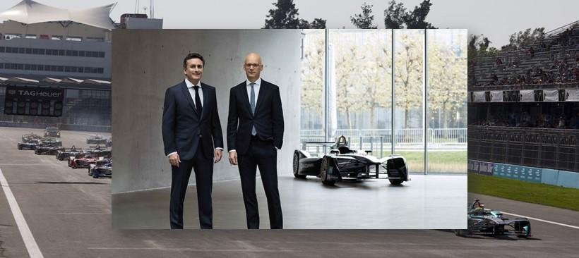 Fórmula E se viste con Hugo Boss