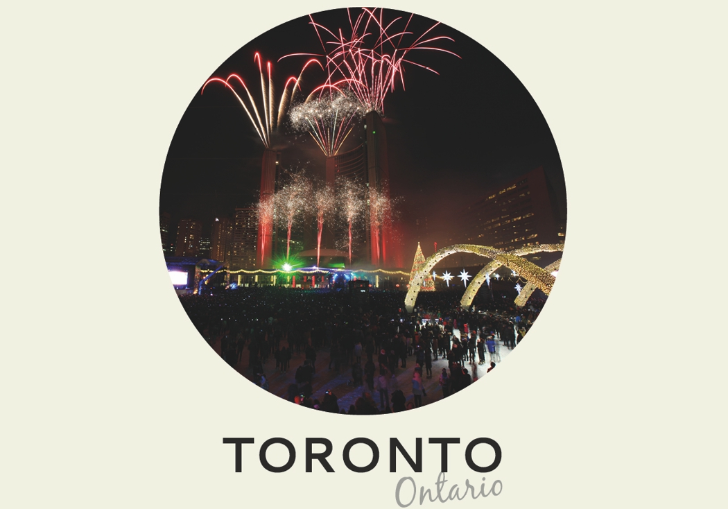 Año nuevo 2018: Toronto, Ontario