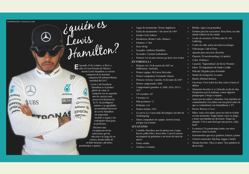 ¿quién es Lewis Hamilton?