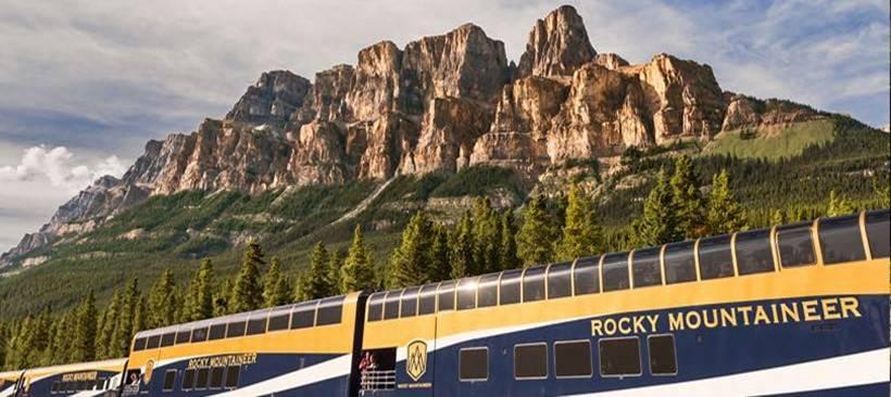 Romántico viaje en tren que durará toda la vida