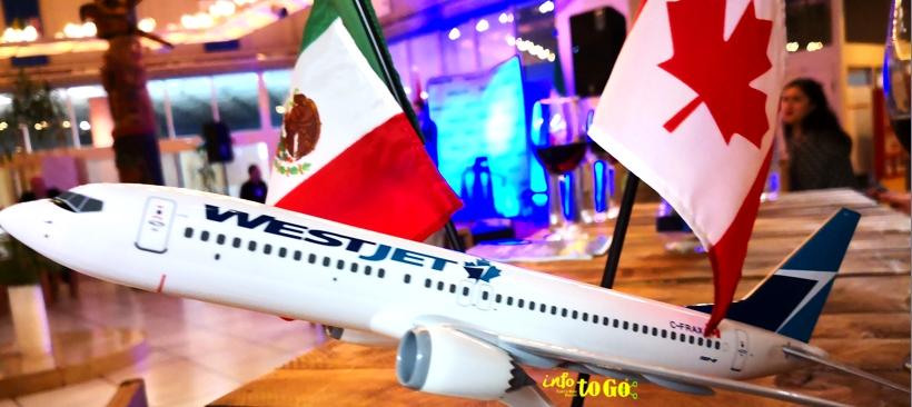 WestJet conecta Canadá y la Ciudad de México