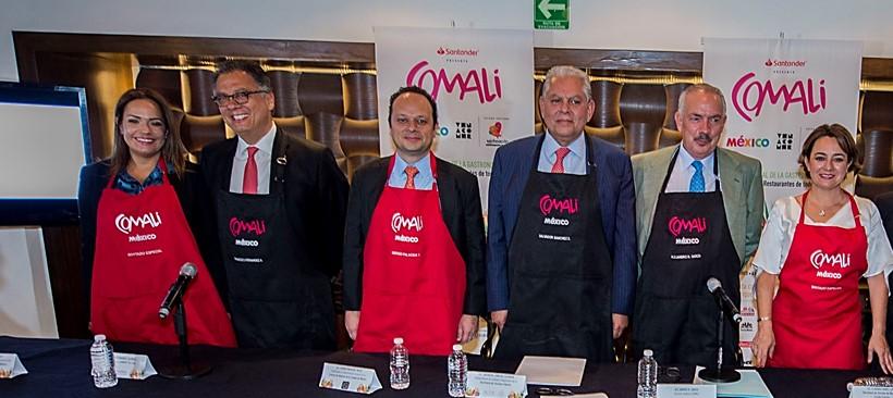 Boletos a la venta de Comali, un viaje culinario por México