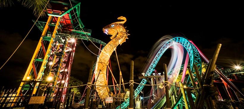 Horario de verano en Busch Gardens Tampa