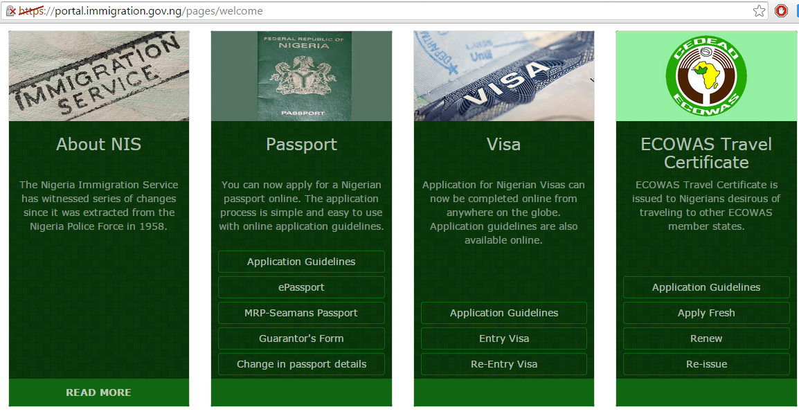 How To Make Online Payment For Nigerian Passport Application