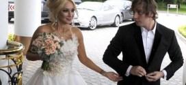 Леру Кудрявцеву на свадьбе подвел муж