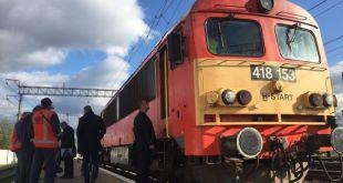 Первый поезд из Венгрии прибыл в Украины по еврокорее.