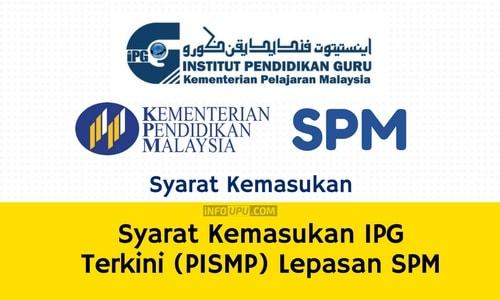 Syarat Kemasukan IPG