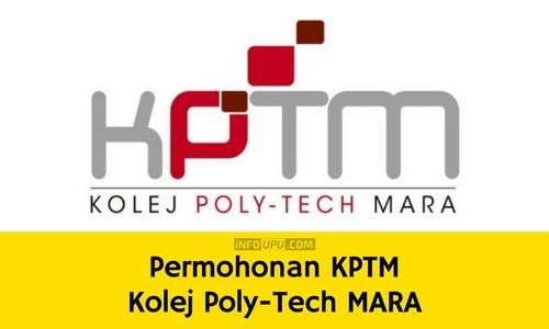 Permohonan Kolej Poly Tech MARA 2018 Online