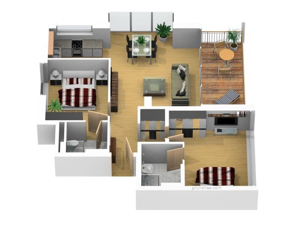 Dünenhaus Aurell Bansin Usedom Penthouse 1