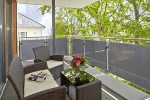 Balkon Penthouse I Dünenhaus Aurell Usedom