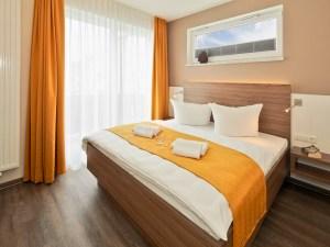 Dünenhaus Aurell App.II Schlafzimmer