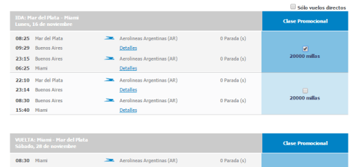 Canje Aerolíneas Plus