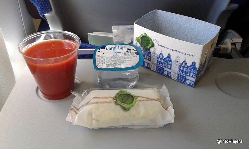 KLM_Servicio_Comida_A_Bordo