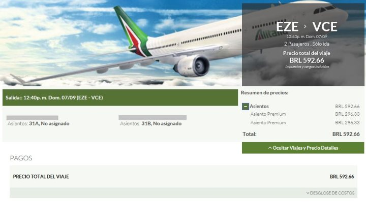 alitalia_ticket_emitido_millas_smiles_compra_asiento_premium