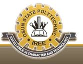 Osun State Poly Iree HND admission Form