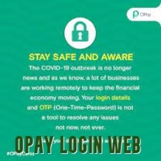 Opay Login Web