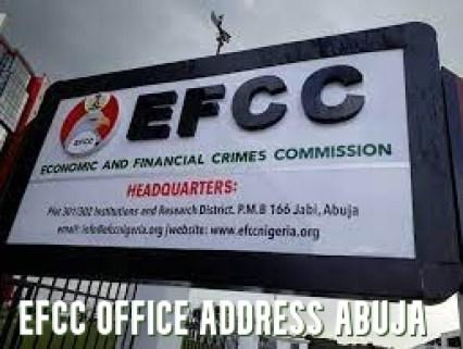 EFCC Office Address Abuja 2021