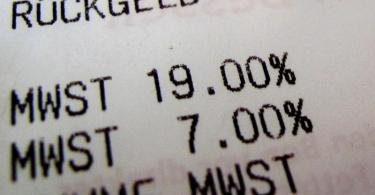Im Zuge des Konjunkturpakets wird temporär auch die Mehrwertsteuer gesenkt. Foto: picture alliance / dp