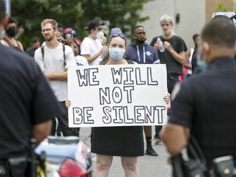 Erneut ist ein Afroamerikaner bei einem Polizeieinsatz in den USA ums Leben gekommen. Foto: Steve Schaefer/Atlanta Journal-Constitution/AP/dpa