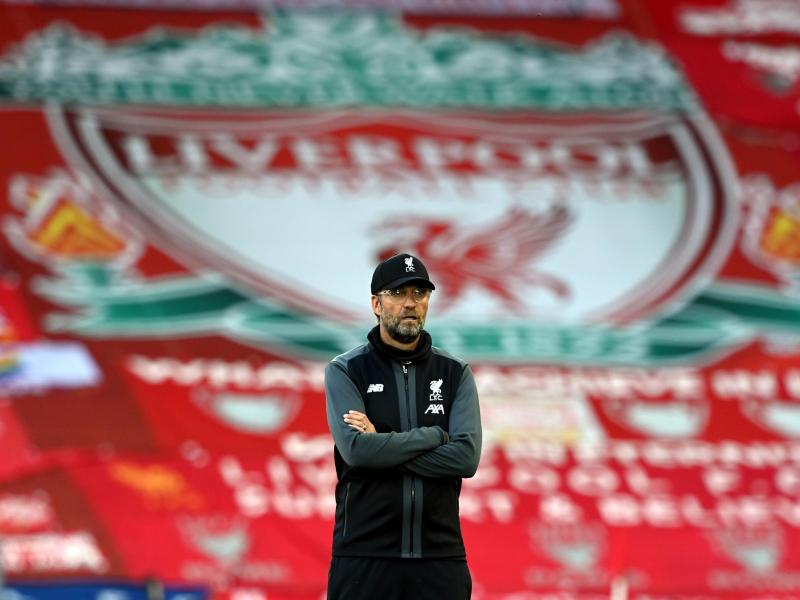 Trainer Jürgen Klopp ist mit dem FC Liverpool Champion der Premier League. Foto: Shaun Botterill/Nmc Pool/PA Wire/dpa
