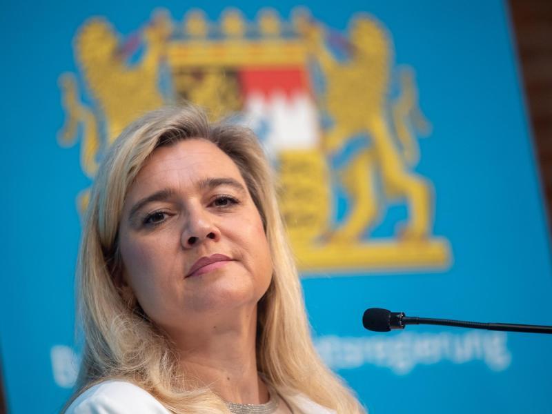 Die bayerische Gesundheitsministerin Melanie Huml. Foto: Peter Kneffel/dpa