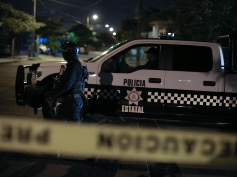 Die Staatspolizei ist gegen die Gewalt in Irapuato nahezu chancenlos. Foto: Rebecca Blackwell/AP/dpa