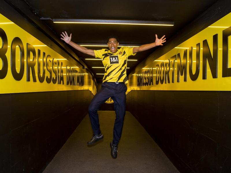Läuft künftig im BVB-Trikot auf: Jude Bellingham. Foto: Alexandre Simoes/BVB/Borussia Dortmund/dpa