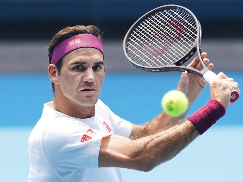 Hat seit gut einem halben Jahr Match-Pause: Tennis-Star Roger Federer. Foto: Michael Dodge/AAP/dpa
