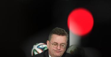 Trat im April 2019 als DFB-Präsident zurück: Reinhard Grindel. Foto: Boris Roessler/dpa