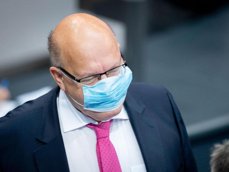 Wirtschaftsminister Peter Altmaier (CDU) begibt sich vorsorglich in Quarantäne. Foto: Kay Nietfeld/dpa