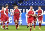 Roland Sallai (r) war der Freiburger Matchwinner beim Sieg auf Schalke. Foto: Martin Meissner/AP POOL/dpa