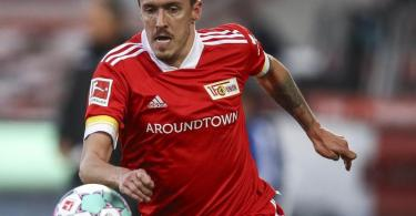 Im Stadtderby gegen Hertha BSC setzt der 1. FC Union Berlin besonders auf Max Kruse. Foto: Maja Hitij/Getty Images Europe/Pool/dpa