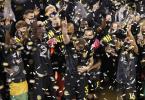 Columbus Crew gewann zum zweiten Mal nach 2008 die Fußball-Meisterschaft in der nordamerikanischen Profi-Liga. Foto: Jay Laprete/AP/dpa