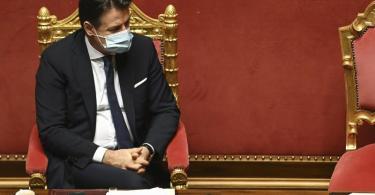 Laut Regierung in Rom will Italiens Ministerpräsident Giuseppe Conte seinen Rücktritt anbieten. Foto: Andreas Solaro/Pool AFP/AP/dpa