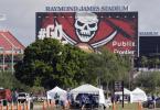 22.000 Menschen soll beim Super Bowl in Tampa live dabei sein. Foto: Chris O'meara/AP/dpa