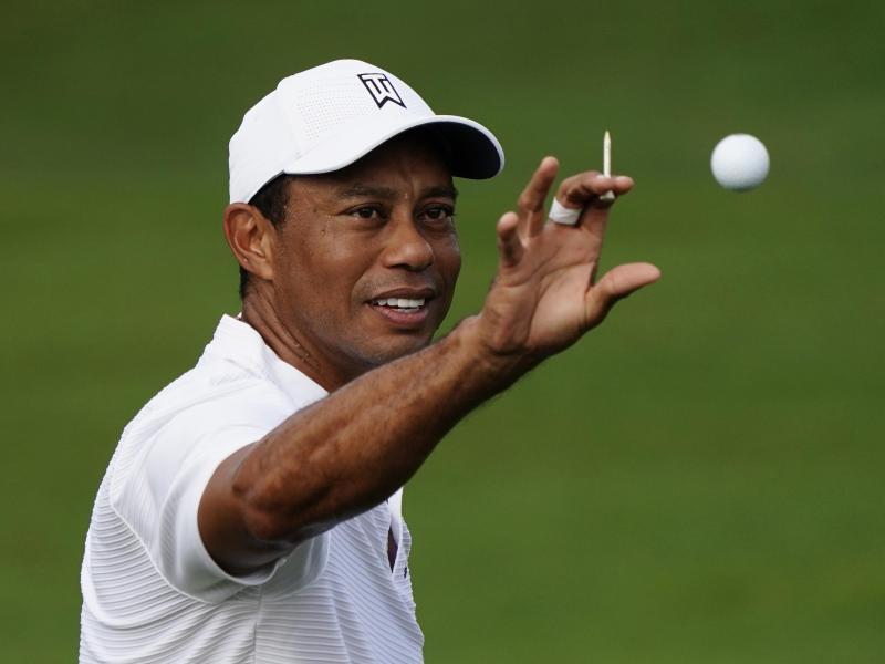 Ist bei einem Verkehrsunfall verletzt worden: Golf-Star Tiger Woods. Foto: Matt Slocum/AP/dpa