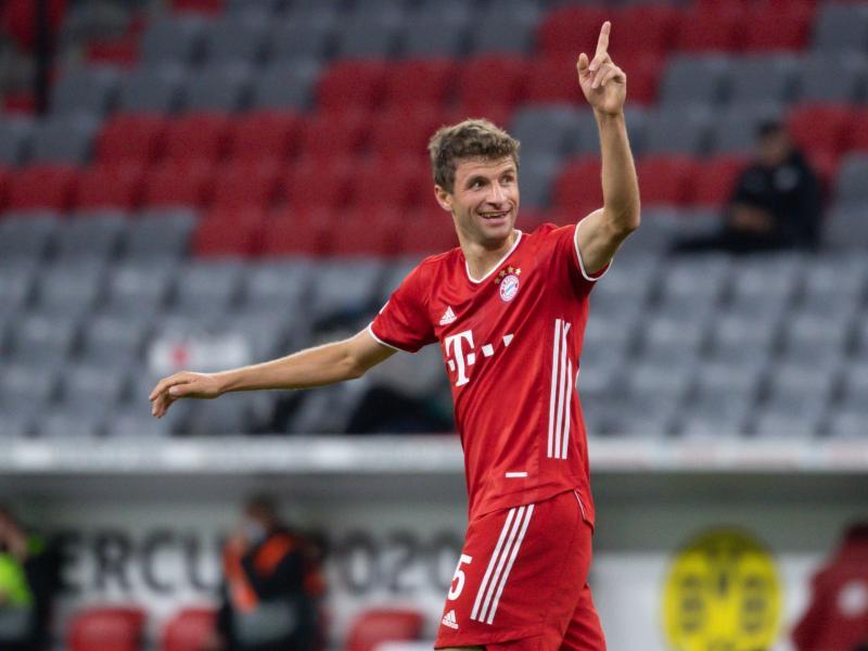 Überraschend schnell ist Thomas Müller nach seiner Coronavirus-Infektion beim FC Bayern zurück. Foto: Sven Hoppe/dpa