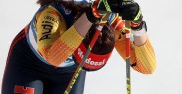 Langläuferin Katharina Hennig kam bei der WM nicht über Rang 29 hinaus. Foto: Karl-Josef Hildenbrand/dpa
