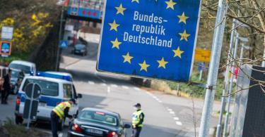 Im Kampf gegen die Ausbreitung gefährlicher Mutationen des Coronavirus wird die Einreise aus der französischen Grenzregion Moselle nach Deutschland erschwert. Foto: Oliver Dietze/dpa