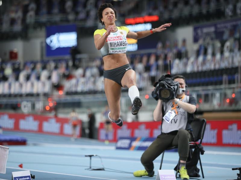 Die Qualifikation war für Malaika Mihambo eine Zitterpartie. Foto: Leszek Szymanski/PAP/dpa