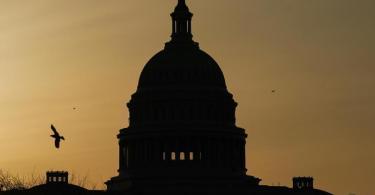 Die Kuppel des US-Kapitols in Washington, Sitz vonSenat und Repräsentantenhaus. Foto: Carolyn Kaster/AP/dpa