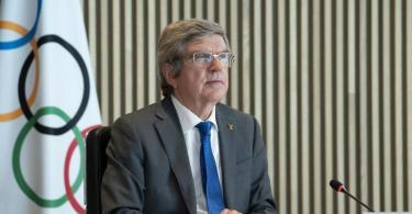 IOC-Präsident Thomas Bach steht vor der Wiederwahl. Foto: Greg Martin/IOC/dpa