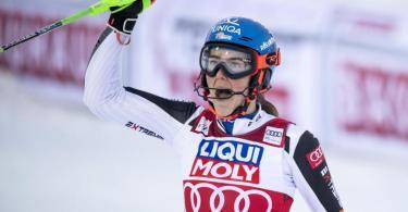 Petra Vlhova steht vor dem Gewinn des Gesamtweltcups. Foto: Pontus Lundahl/TT NEWS AGENCY/AP/dpa