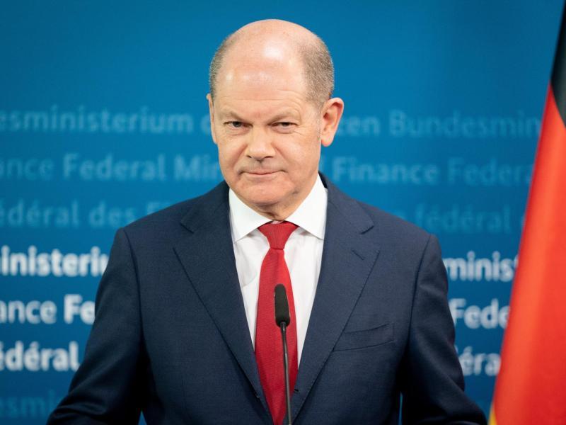 Finanzminister Olaf Scholz. Foto: Kay Nietfeld/dpa