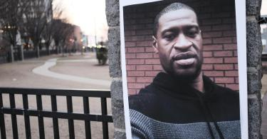 George Floyd war am 25. Mai 2020 in Minneapolis bei einer brutalen Festnahme ums Leben gekommen. Foto: John Arthur Brown/ZUMA Wire/dpa
