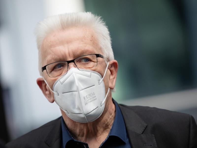 Winfried Kretschmann soll am Samstag «ein abschließendes Sondierungsgespräch» mit der Union führen. Foto: Christoph Schmidt/dpa