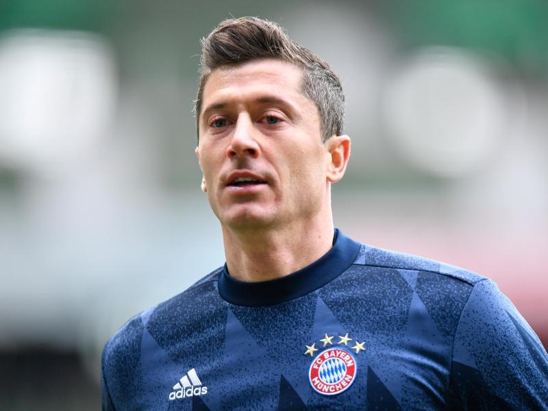 Muss nach seiner Länderspiel-Verletzung pausieren:Bayern-Torjäger Robert Lewandowski. Foto: Martin Meissner/AP-Pool/dpa